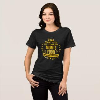 Camiseta alimentos da mamã