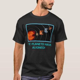 Camiseta Alinhamento do rastejamento