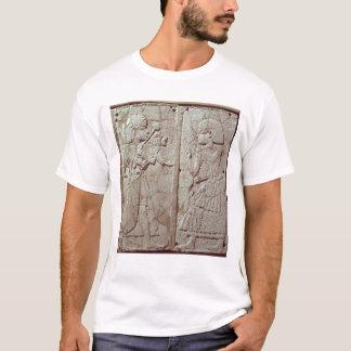 Camiseta Alivio que descreve uma terra arrendada da guarda