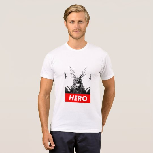 Camiseta All might-Boku no hero T-shirt