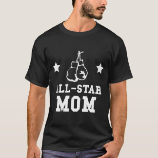 Camiseta All Star que encaixota a mamã