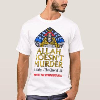 Camiseta Allah não assassina - proteja refugiados sírios