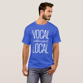 Camiseta #AllForOssoff local & vocal -- BRANCO