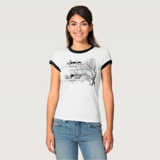 Camiseta Alma aciganada do coração do Hippie com a árvore
