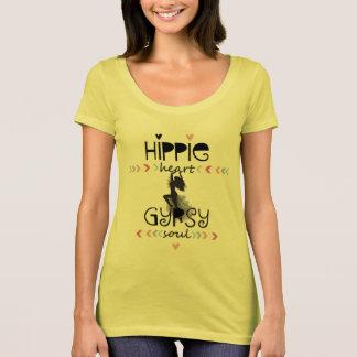 Camiseta Alma do cigano do coração do Hippie