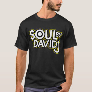 Camiseta Alma pelo preto de David J Alt