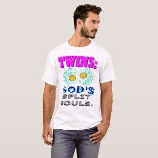 Camiseta Almas da separação do deus dos gêmeos