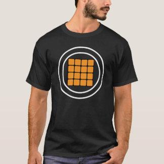 Camiseta Almofadas de Maschine - laranja (camisas escuras)
