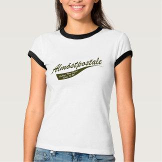 Camiseta Almostpostale - campainha quase postal das
