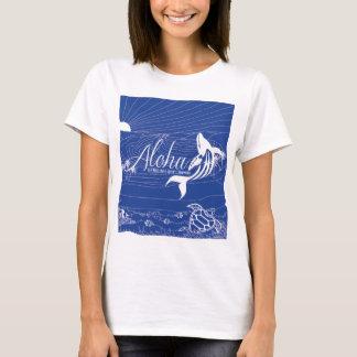 Camiseta Aloha baleia 240 de Havaí