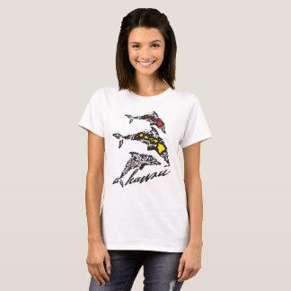 Camiseta Aloha golfinho das ilhas de Havaí