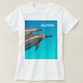 Camiseta ALOHA golfinhos 109 de Havaí