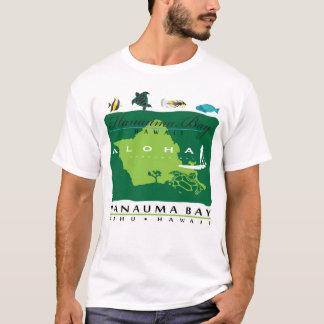 Camiseta Aloha surfista das ilhas de Havaí Oahu