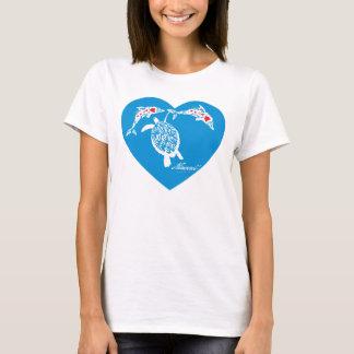 Camiseta Aloha tartaruga de Havaí