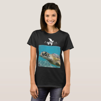 Camiseta Aloha tartaruga de Havaí e enguia de Moray