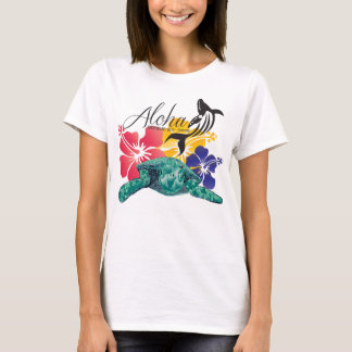 Camiseta Aloha tartaruga Havaí 53 de Hanauma
