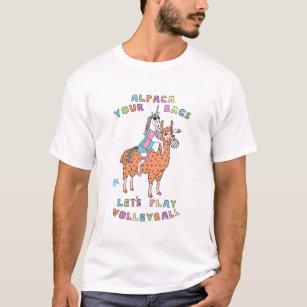 9f0217e4b5 Camiseta Alpaca-Seu-Bolsas-Vamos-Jogo-Interno-Voleibol-Unic