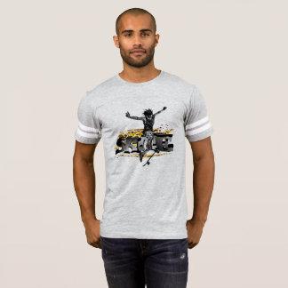 Camiseta alpargata -Skate para homens em Cinzento