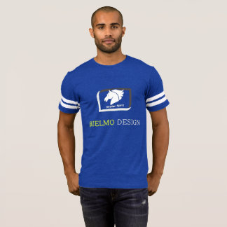 Camiseta alpargata -Vintage Skater Spirit em azul de rei