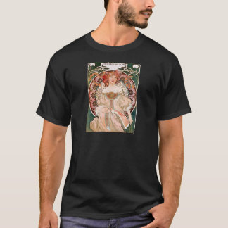 Camiseta Alphonse Mucha: Daydream (Rêverie)