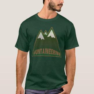 Camiseta alpinismo, estilo da montanha