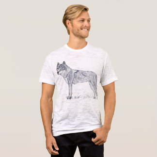 Camiseta Alsatian das canvas