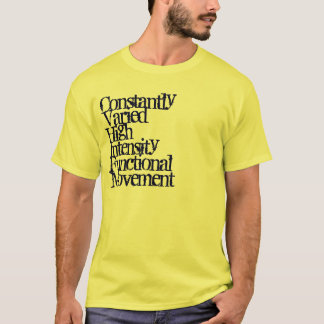 Camiseta Alta intensidade