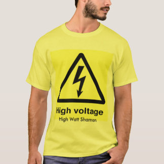 Camiseta Alta tensão