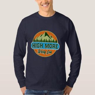 Camiseta Alto mais preocupação menos