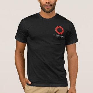 Camiseta ALTONEPHOTO - Porque completo molde o PRETO