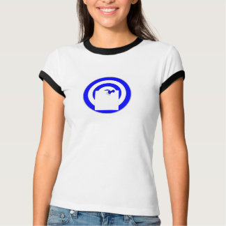 Camiseta Alvo com boletim de voto de nota