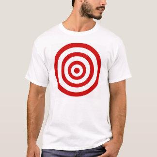 Camiseta alvo de passeio