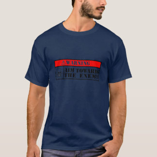 Camiseta Alvo para o inimigo