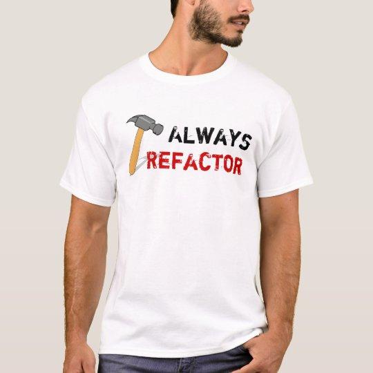 Camiseta Always Refactor