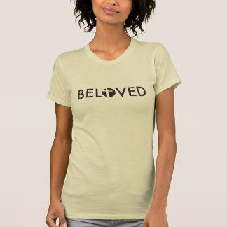 Camiseta Amado, tipo, crucifixo, anfitrião, projete
