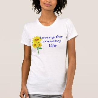 Camiseta Amando a vida no campo