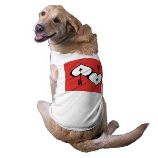Camiseta Amando o camisola de alças com nervuras do