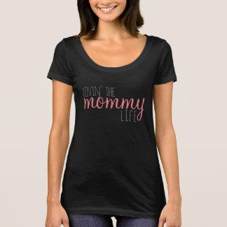 Camiseta Amando o T da vida das mamães