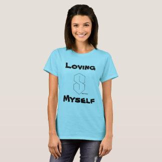 Camiseta Amando-se t-shirt magnífico da mulher