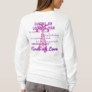 Camiseta Amando um homem do campo petrolífero