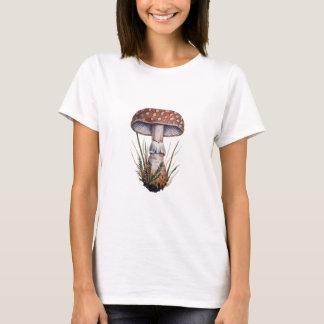 Camiseta Amanita de mosca do impressão do cogumelo do
