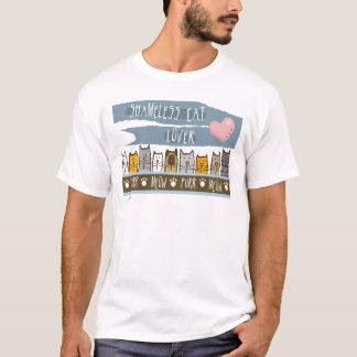 Camiseta Amante desavergonhado do gato
