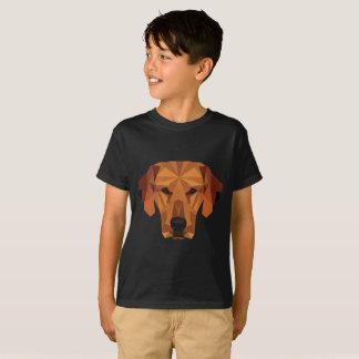 Camiseta Amante do cão - baixo poli - t-shirt