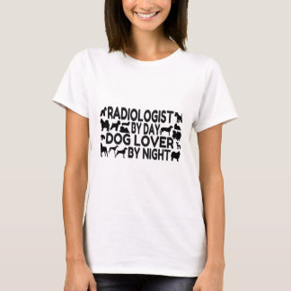Camiseta Amante do cão do radiologista