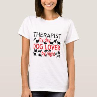 Camiseta Amante do cão do terapeuta