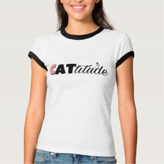 Camiseta Amante do gato de Cattitude