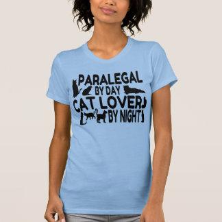 Camiseta Amante do gato do Paralegal