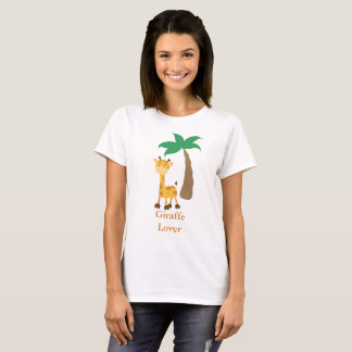 Camiseta Amante do girafa
