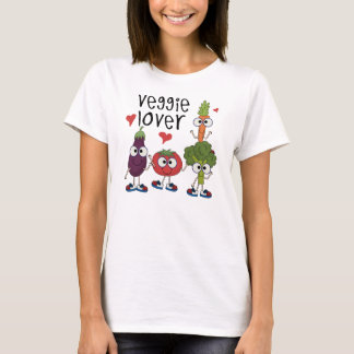 Camiseta Amante do vegetariano