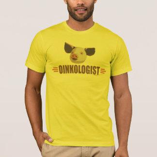 Camiseta Amante engraçado do porco